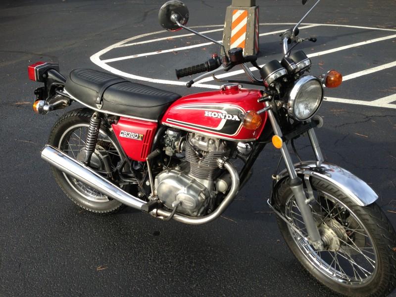 Honda CB360T 1976 USA information