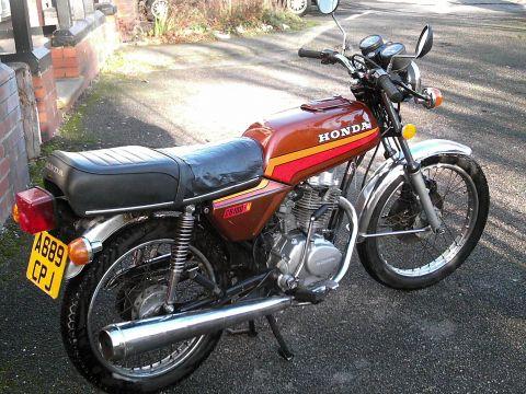 Honda CB100N A 1983