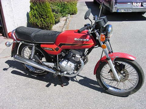 honda cb 125 twin 1978 from vegar l. Black Bedroom Furniture Sets. Home Design Ideas