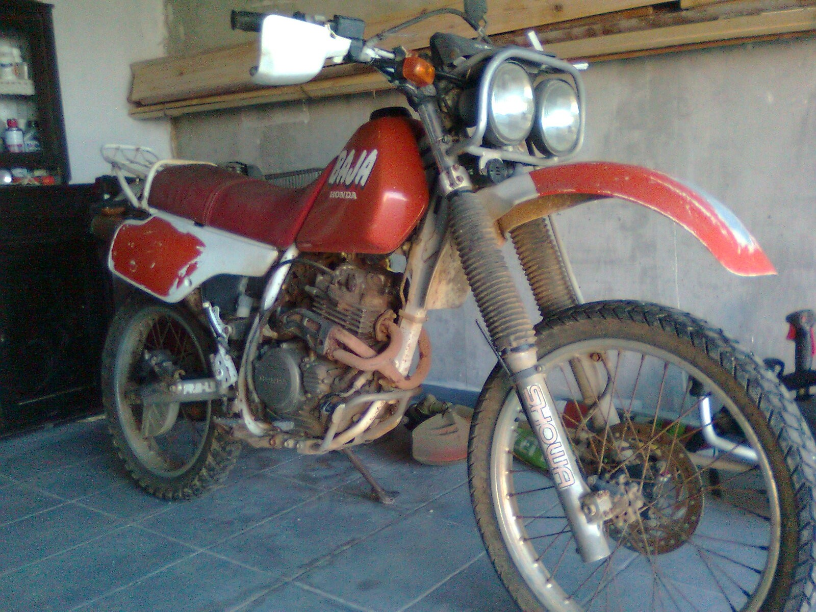 honda xlr 250 baja 1987 from dome. Black Bedroom Furniture Sets. Home Design Ideas