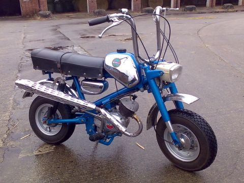 Benelli Mini Bike 1968 From Godofspeed