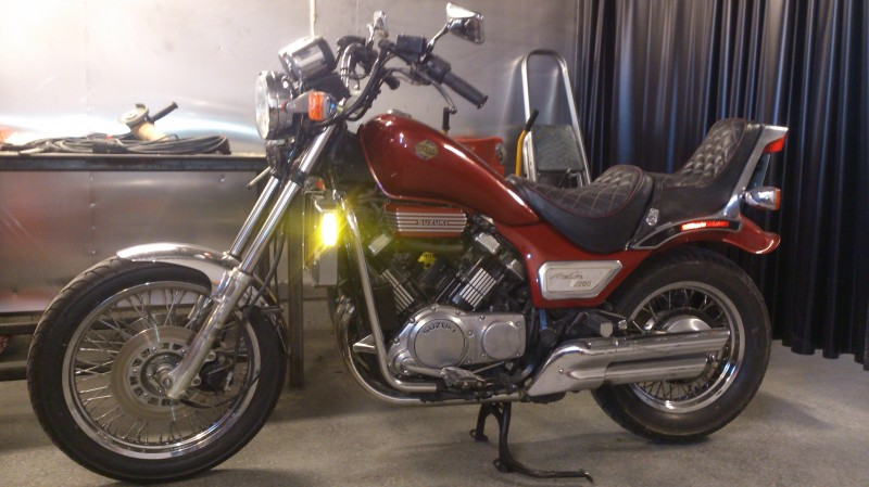 1985 Suzuki GV1200 GLF  GLF2  GLG 1985-1986 USA