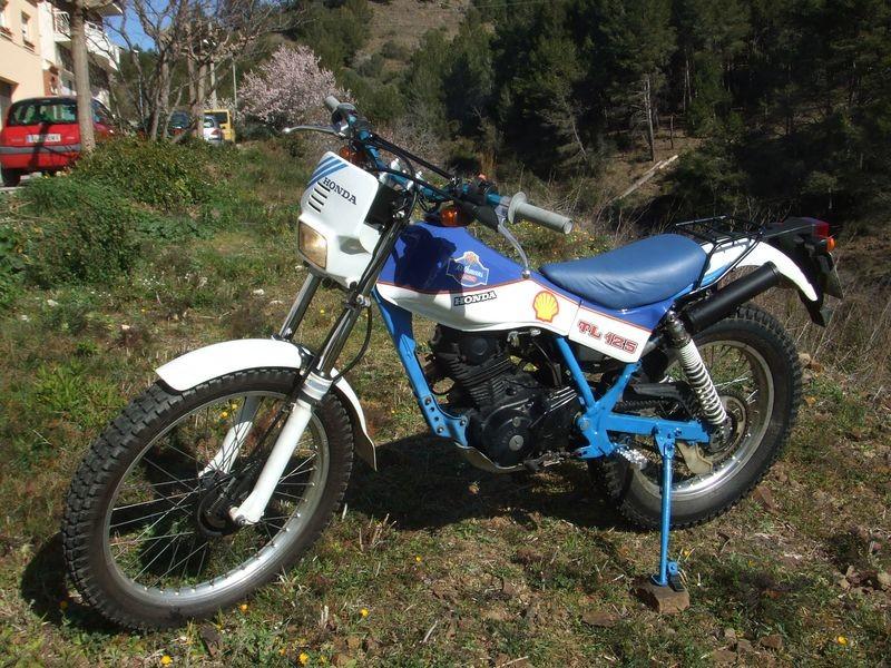 1988 honda tl125 1988 france