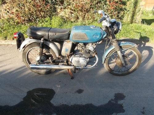 1968 Honda SS125A