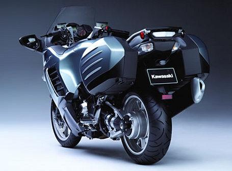 new 2008 Kawasaki Concours - rear view