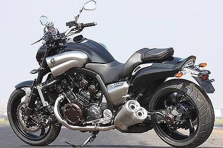 2009 Yamaha V-max side view