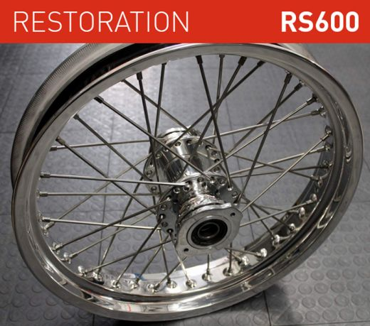 honda rs1000 restoration wheels and spokes