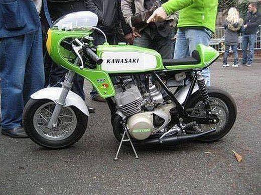 kawasaki minibike