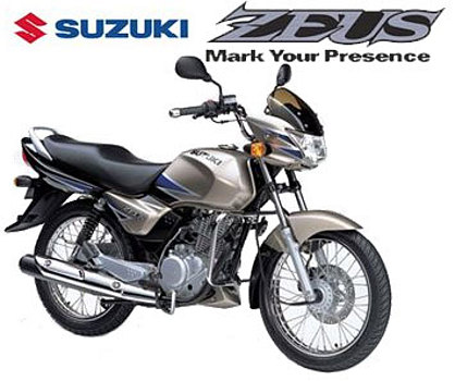 zeus. Suzuki launches Zeus after